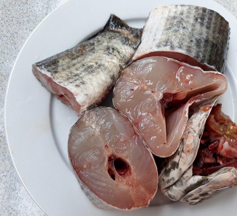 cá tầm nướng muối ớt
