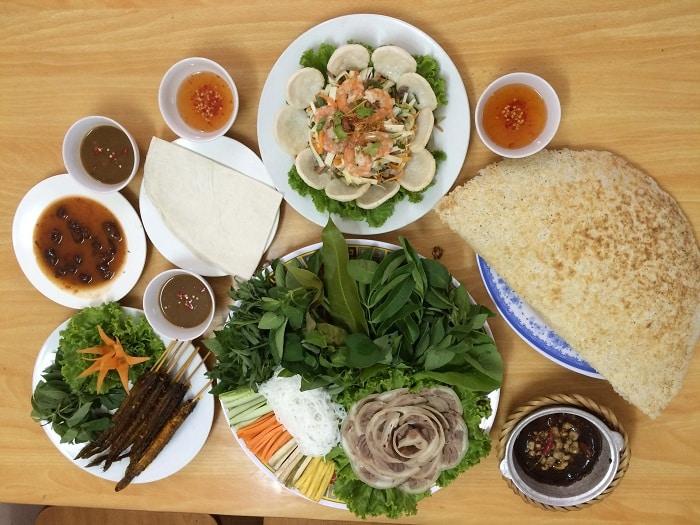 Bánh Tráng Cuốn Thịt Bò Hà Nội