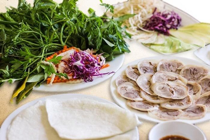 Bánh Tráng Cuốn Thịt Bò Sài Gòn
